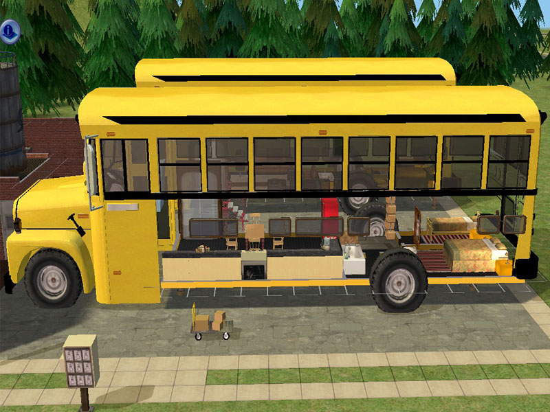 Mod The Sims Schoolbus As Game Object