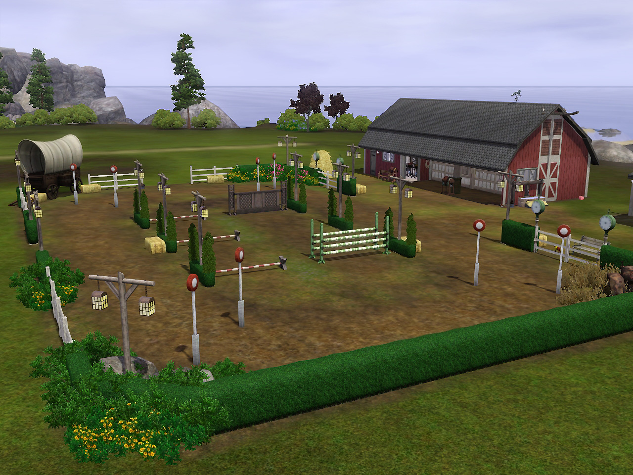 Mod The Sims - Up and Down Stables