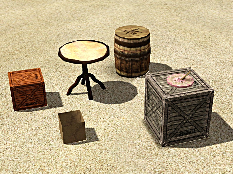 Mod The Sims Castaway Set Part 4 6 Items
