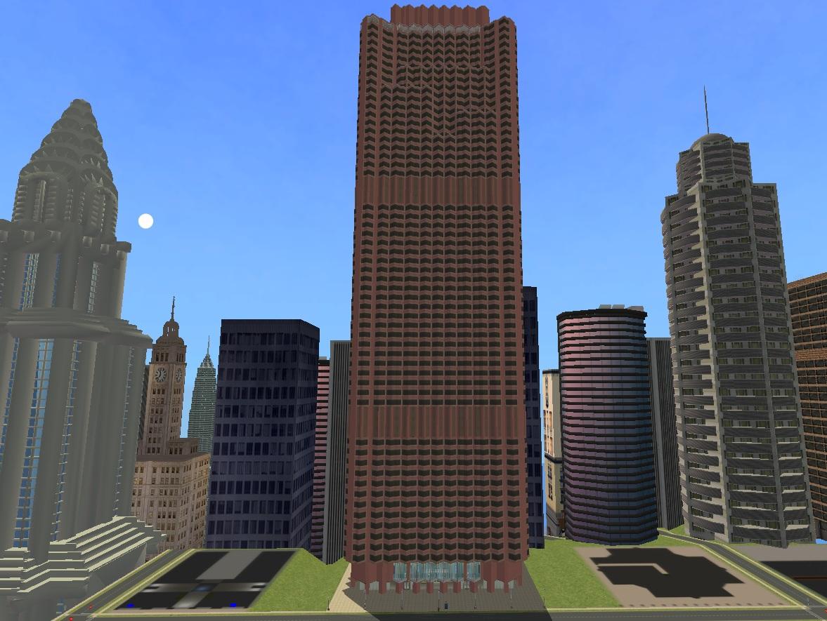Mod The Sims 555 California Street San Francisco Bank