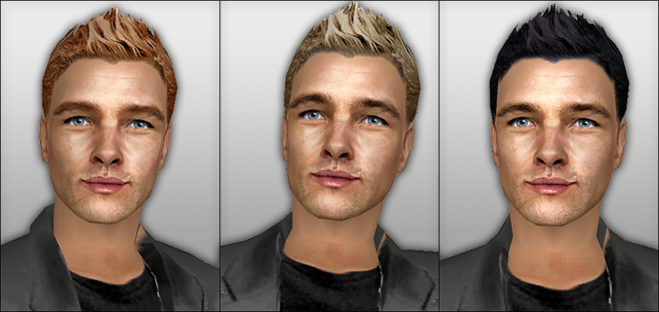 Mod The Sims New Styled Short Hair For Men