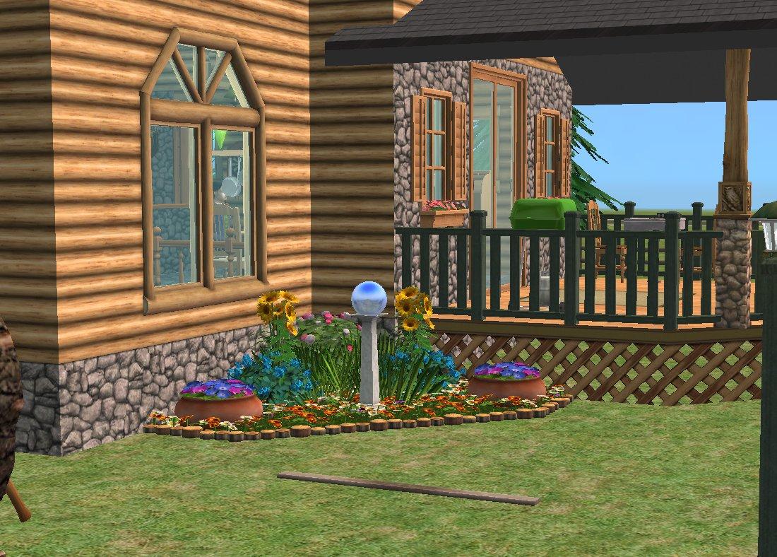 Mod the sims woodland wonder no custom content for Garden room 2x3