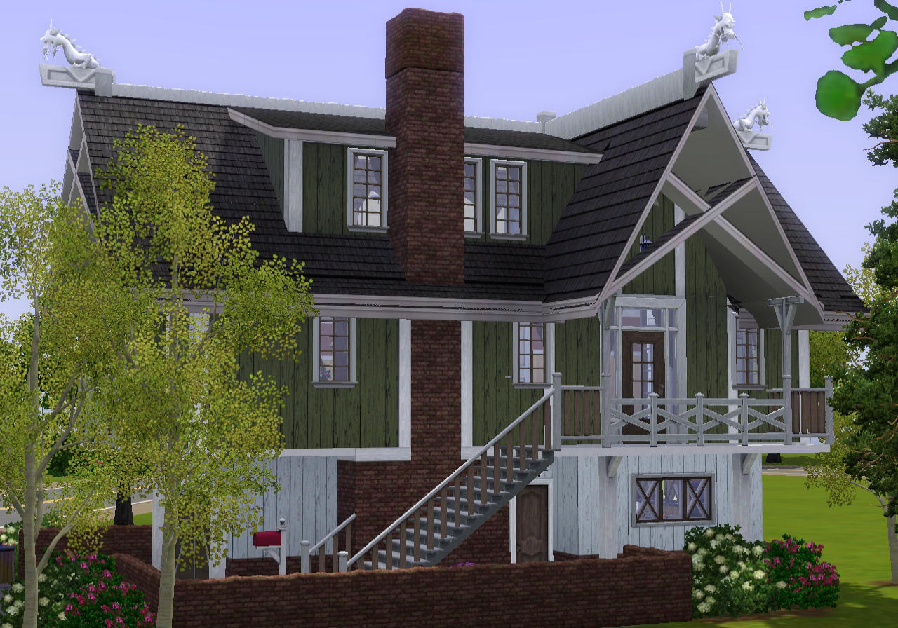 mod the sims alsvik concept cottage model 22