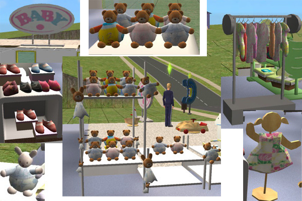 Mod The Sims - Baby shop