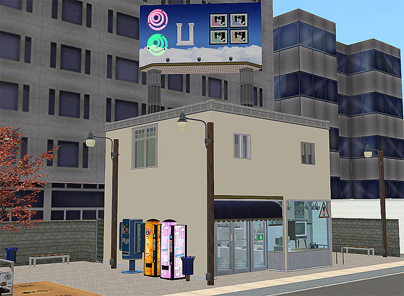 Mod The Sims Katamari Village Shops 3 Electronics