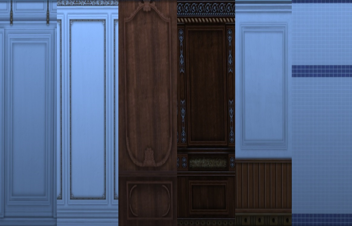 Mod The Sims Titanic Wall Set