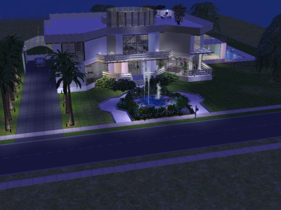 Ultra Modern Luxury Homes mod the sims - ultra modern luxury home
