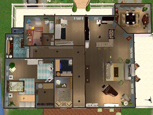 Mod The Sims 2004 HGTV Dream Home – Hgtv Dream Home 2004 Floor Plan