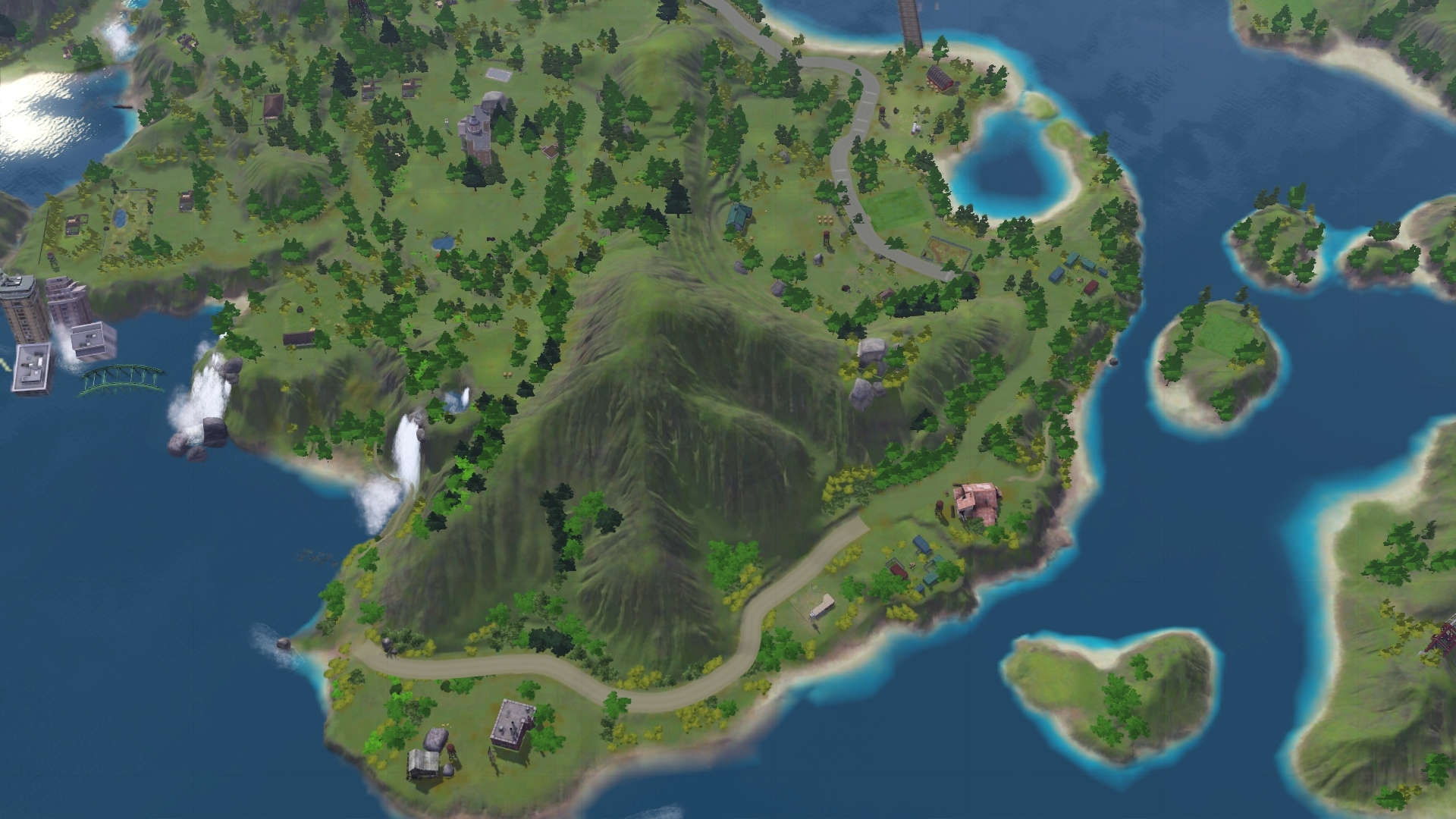 mod the sims   lost cove