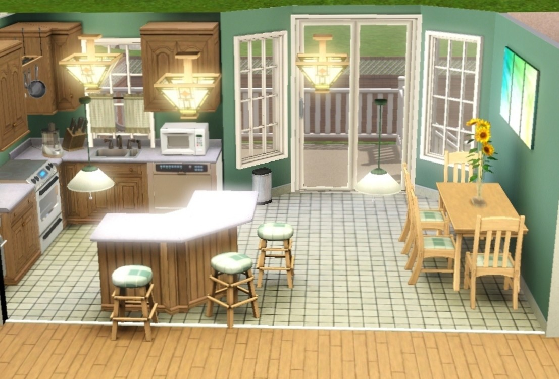 Mod the sims honey cottage for Case the sims 3 arredate