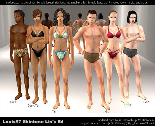 Die sims 2 nackt skin photos 73