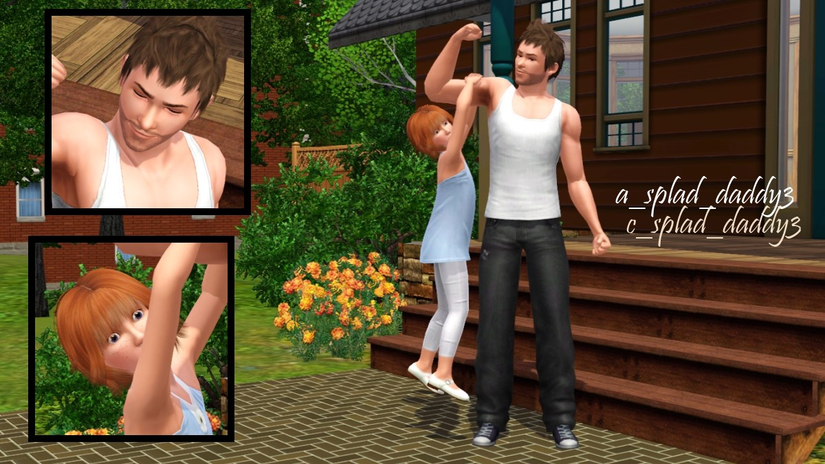 mod the sims daddy s babysitting description