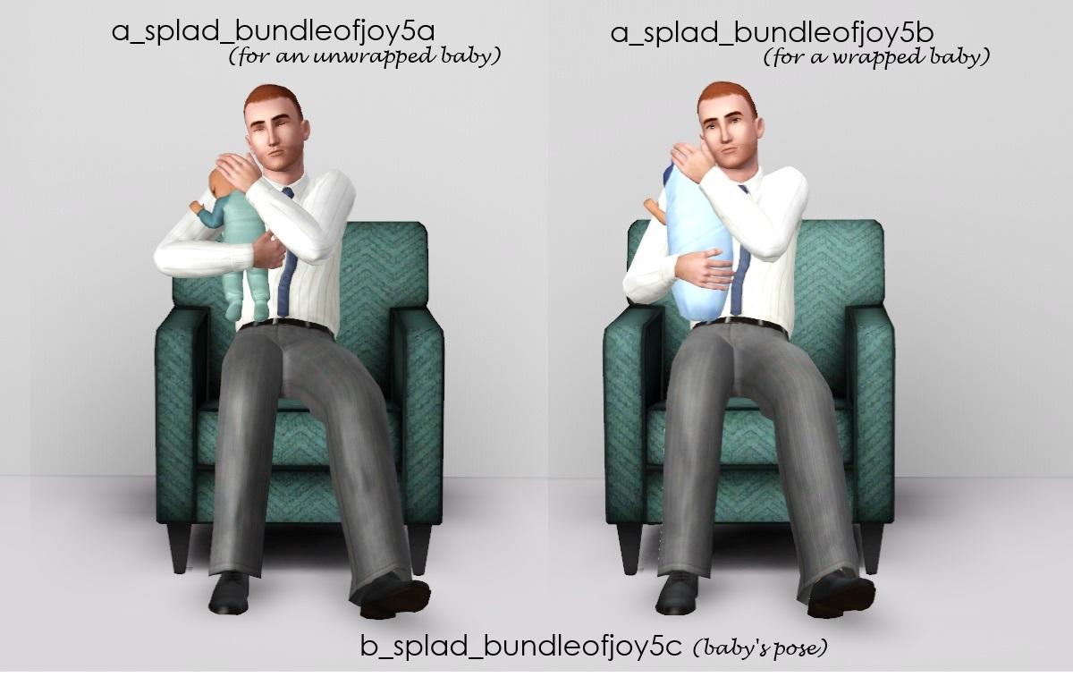 Mod The Sims - Bundle Of Joy  Infant Poses