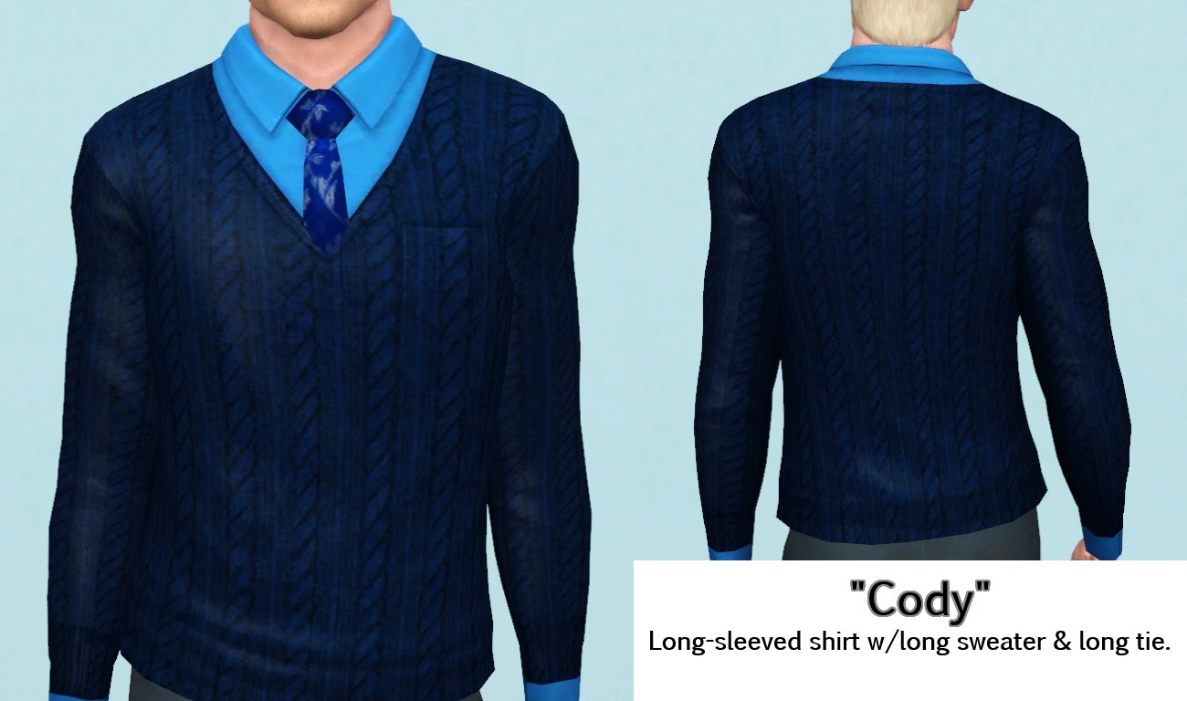 Mod The Sims - All Spruced Up--Sweater Vests