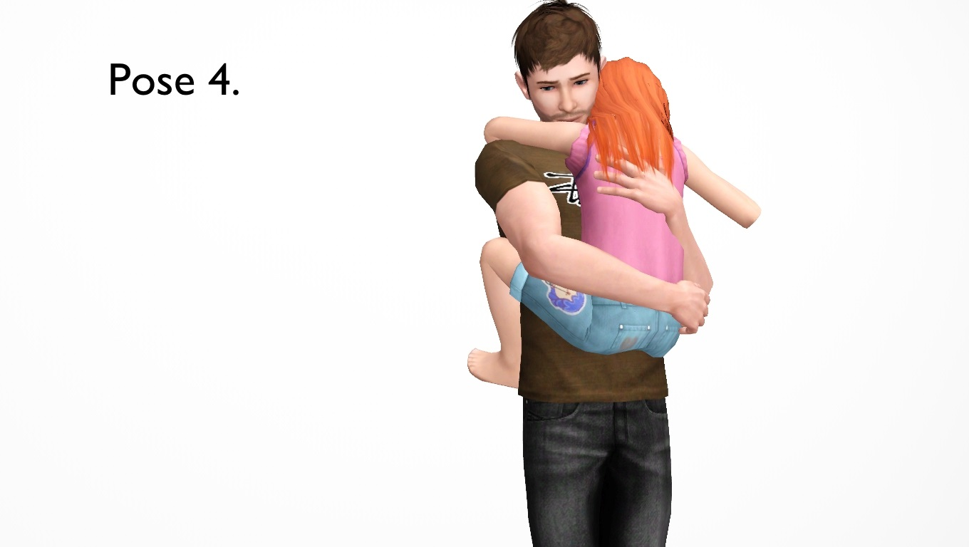Mod The Sims - Are You Sick, Kiddo?--5 child/adult poses