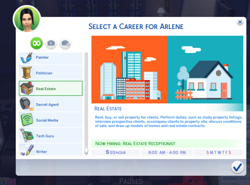 Mod The Sims - Real Estate Career (Updated 5/16)