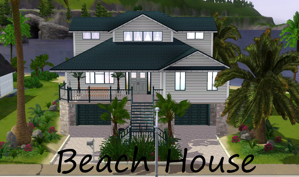 Mod the sims down by the beach for Beach house plans sims 3