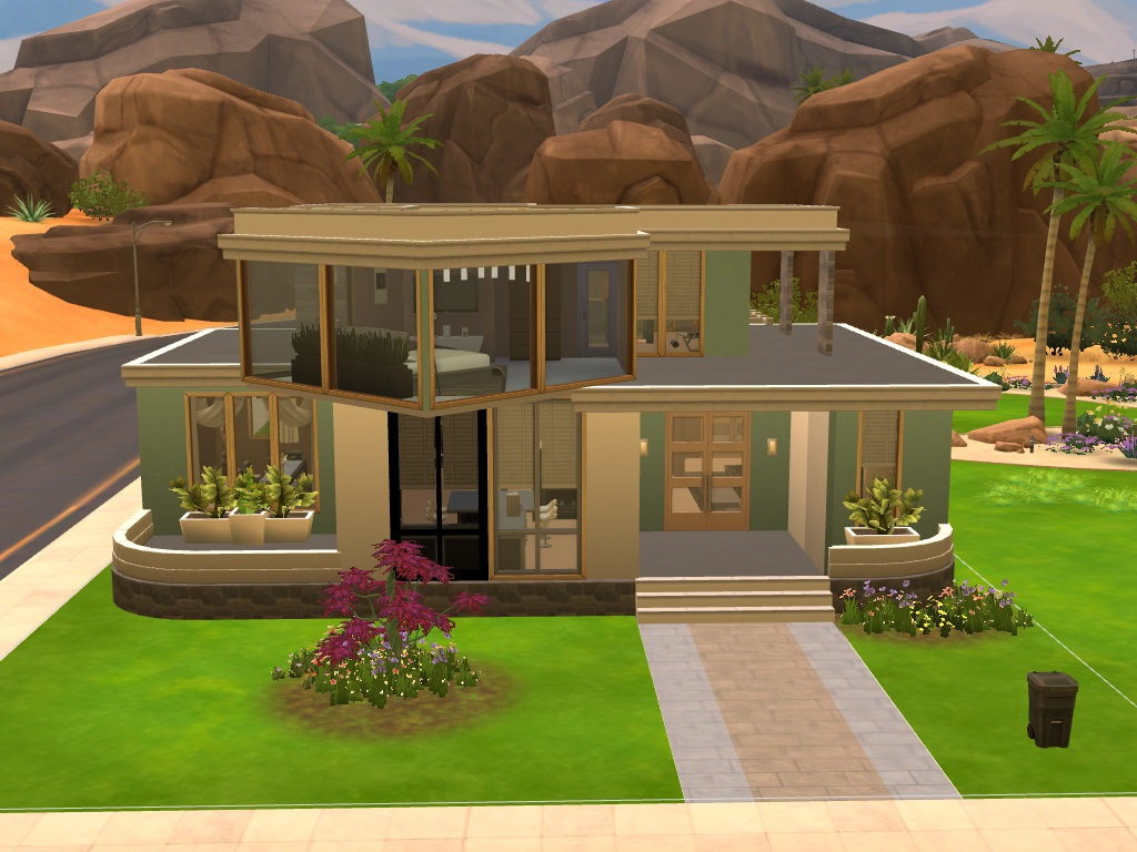 My First Sims 4 Upload Is A 2 Bedroom 1 Bath Home For Your Simmies. Built  On A 20x30 Lot In Oasis Springs.