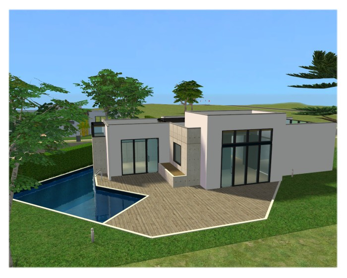 Mod The Sims EON Modern House