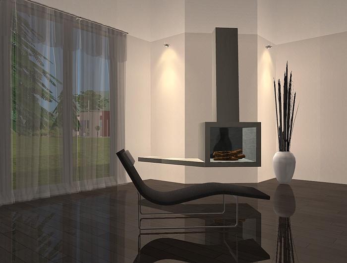 Mod The Sims Ad 20 Modern Fireplace Set