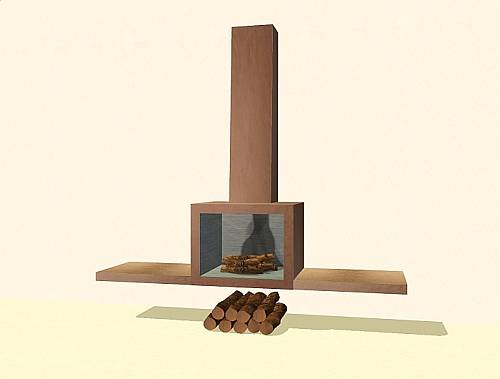 Mod The Sims - ad_20 Modern Fireplace Set