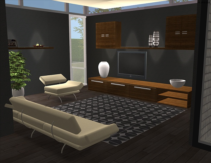 Mod the sims raav living room furniture for 3 star living room chair sims
