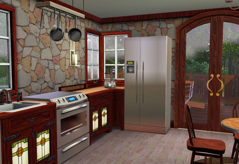 Mod the sims the charles for Sims 3 dining room ideas