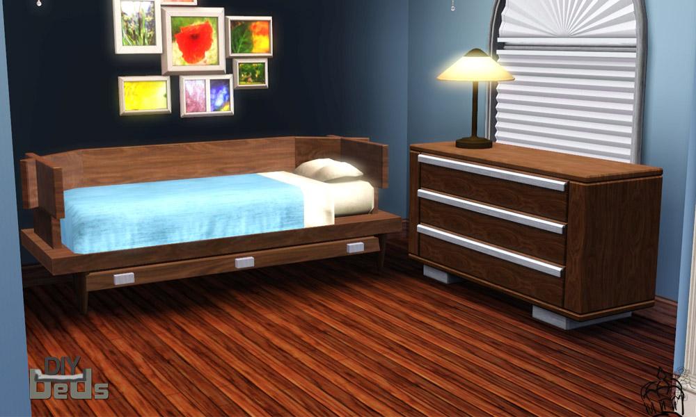 Mod The Sims Diy Beds