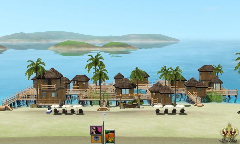 Mod The Sims Bora Shora Resort