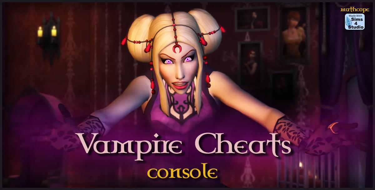 Mod The Sims - Vampire Cheats Simplified