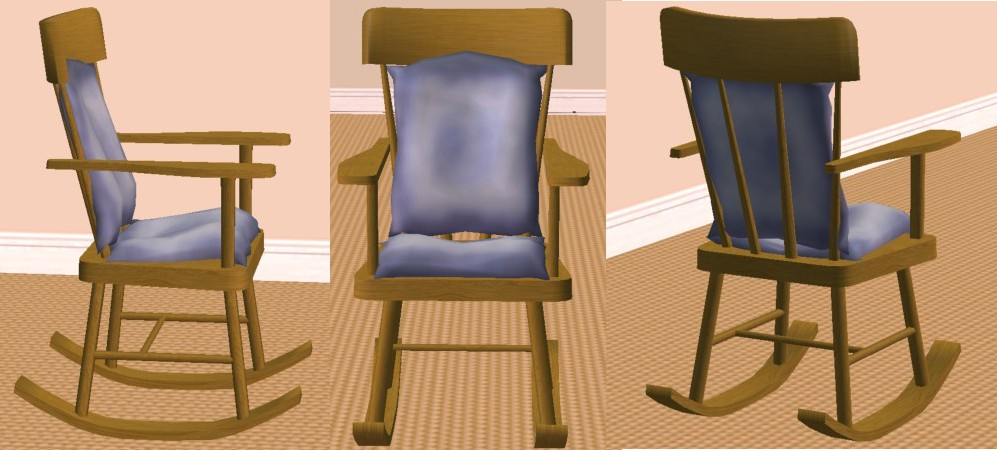 Miraculous Mod The Sims The Nonrocking Rocking Chair Lamtechconsult Wood Chair Design Ideas Lamtechconsultcom