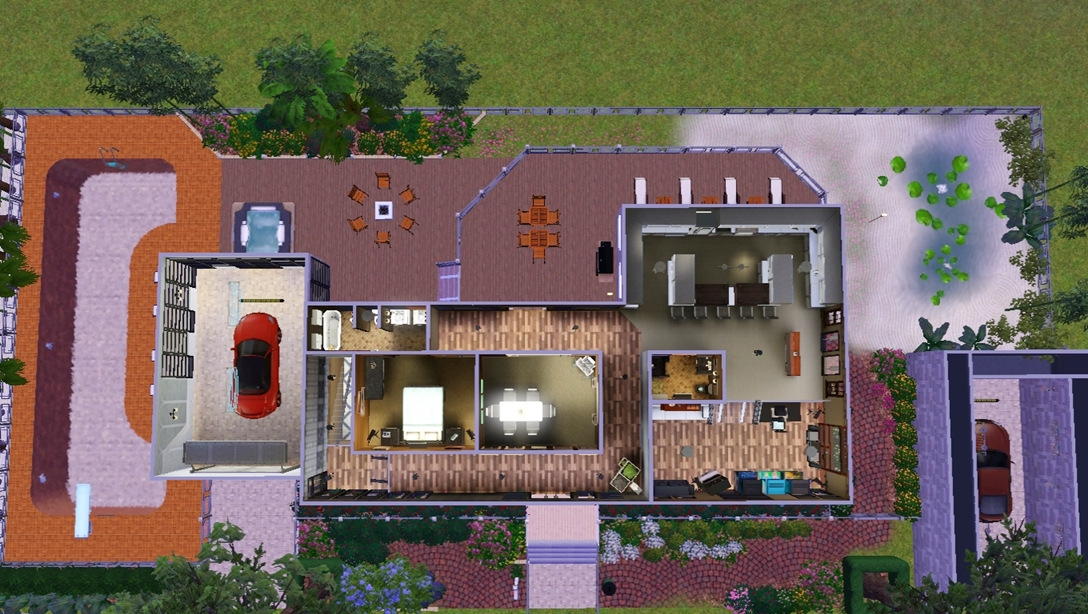 Mod The Sims Vinewood Hills Showhome