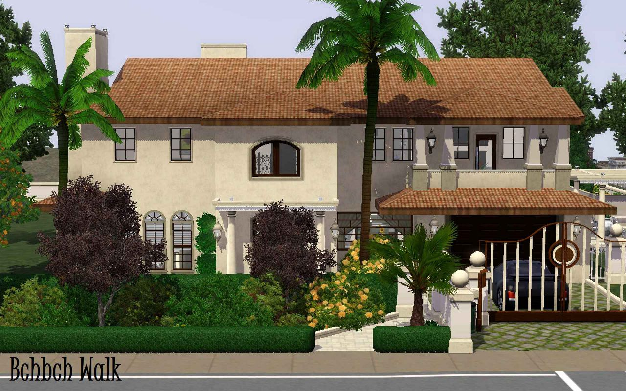 Mod The Sims Kim Kardashian S Mansion