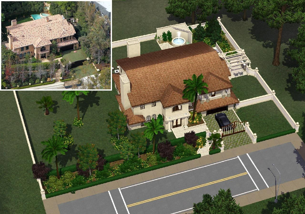 Mod The Sims Kim Kardashian S Mansion