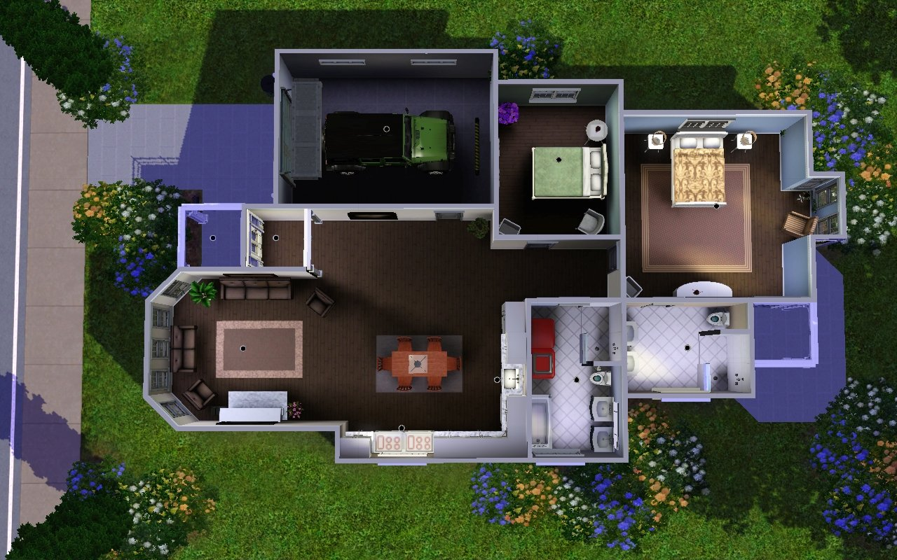 Mod the sims 3 sun song ave for Sims 4 house plans