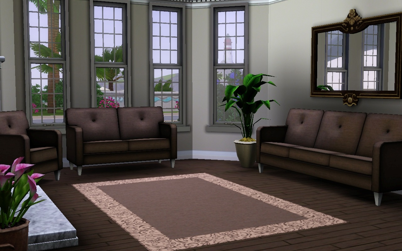 Sims 3 rich living room the image kid for Sims 3 living room ideas