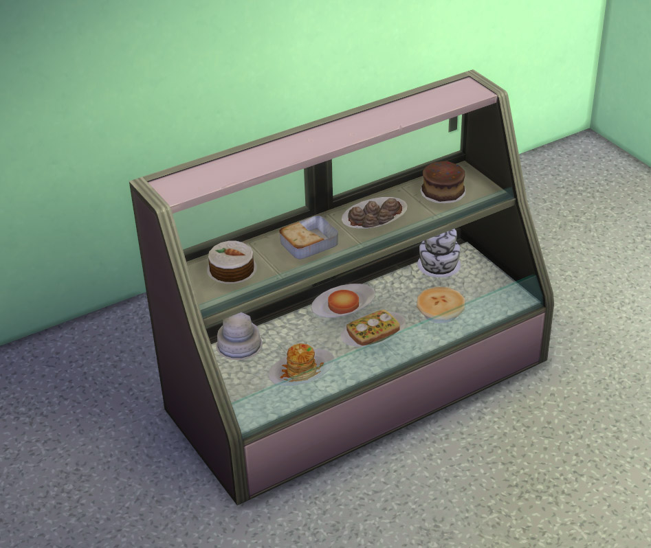 Mod the sims updated decluttered food displays for Case the sims 3 arredate