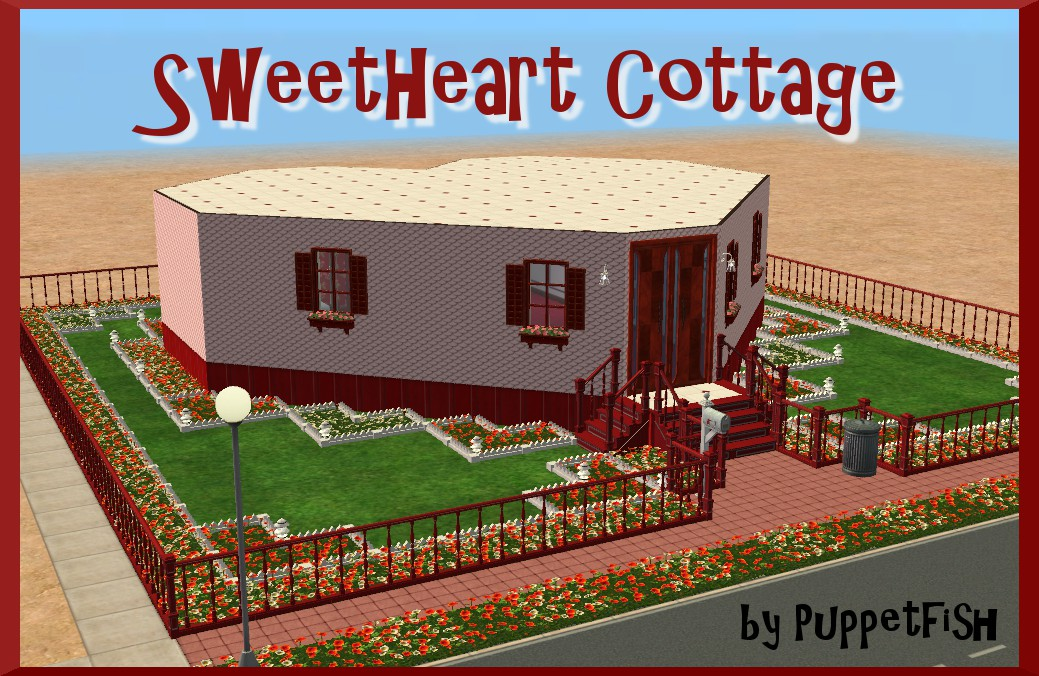 Mod the sims sweetheart cottage for Custom cottage fish house prices