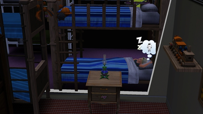 I Felt Angry By Ing The Most Expensive Bunk Bed And Bad Night S Sleep Moodlet Ears So Made This Mod Now Only Well Rested
