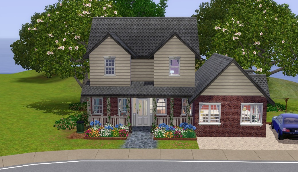 mod the sims - the suburban house - part ii