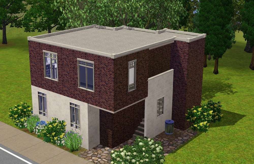 Mod the sims the little modern house for Classic house sims 3