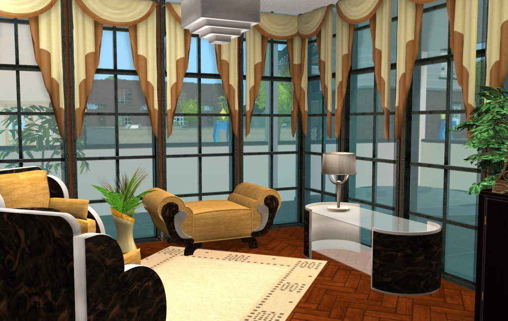 So When I Was Set A Challenge To Redecorate House At Leefishnl By Celebkiriedhel Decided Build And Decorate It In The Art Deco Style