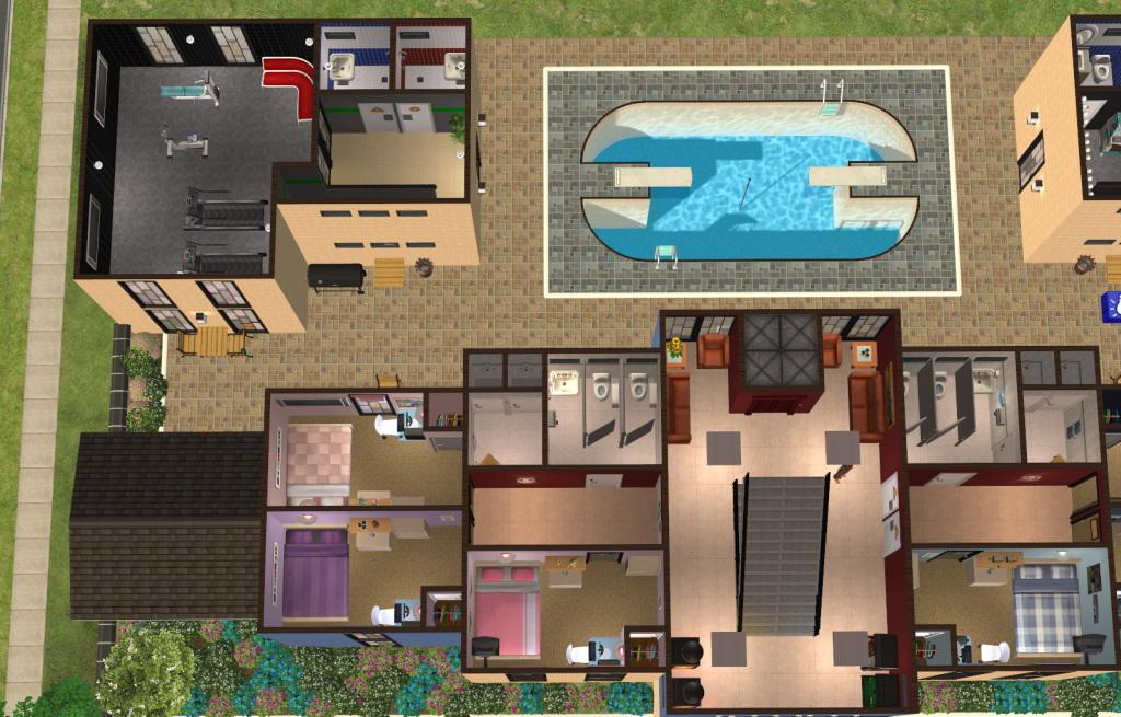 Mod The Sims Northfield University Dorms