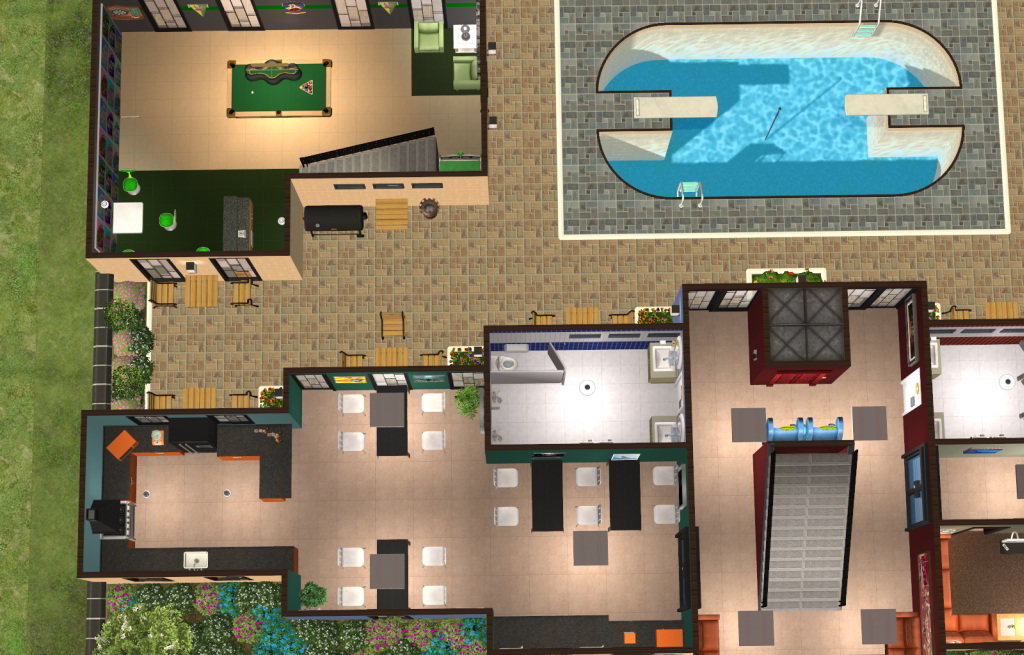 Sims  How To Build A Dorm