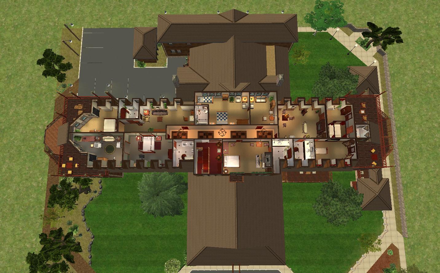 mod the sims el tovar hotel grand canyon national park no cc