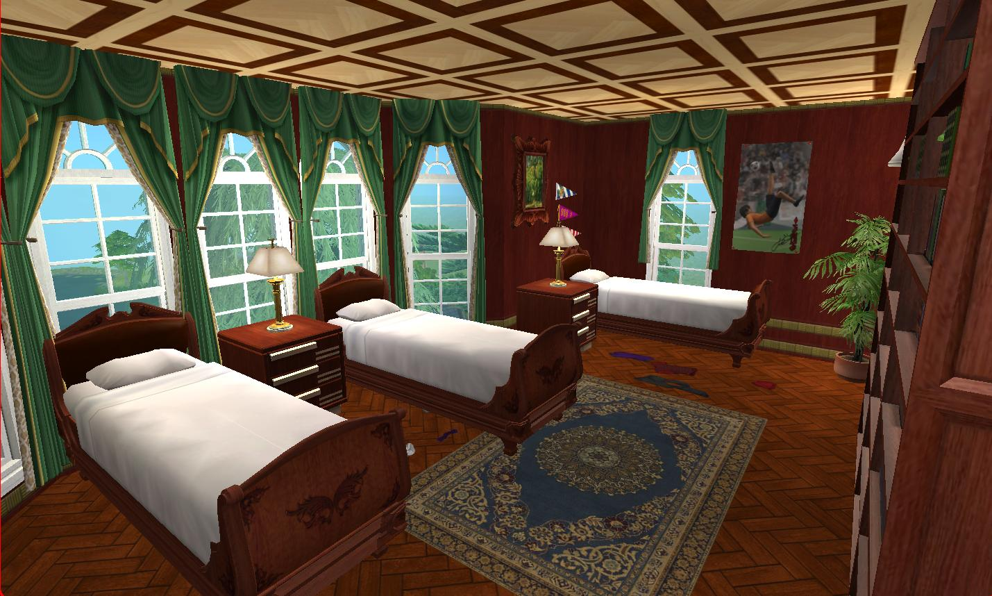 Mod The Sims X Men Mansion Charles Xavier S School For