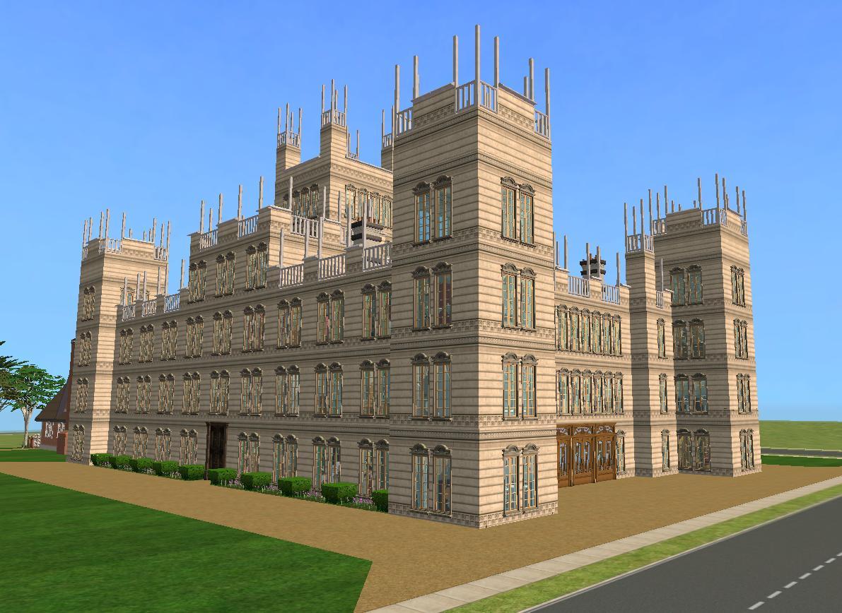 Mod The Sims - Downton Abbey / Highclere Castle - NO CC