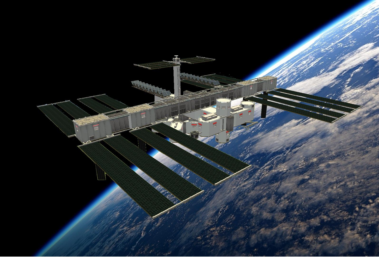 Mod The Sims - International Space Station - NO CC