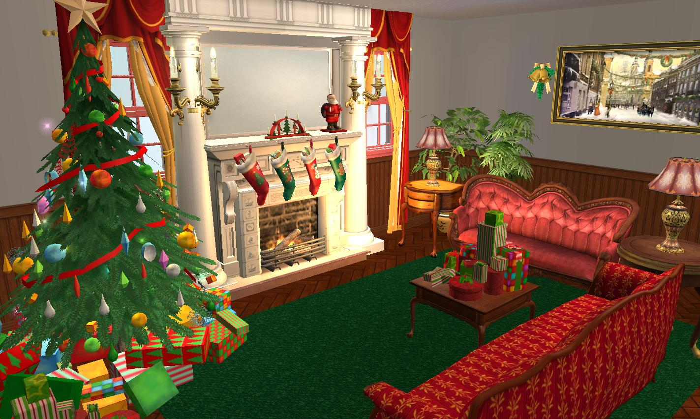 mod the sims hallelujah square little christmas. Black Bedroom Furniture Sets. Home Design Ideas