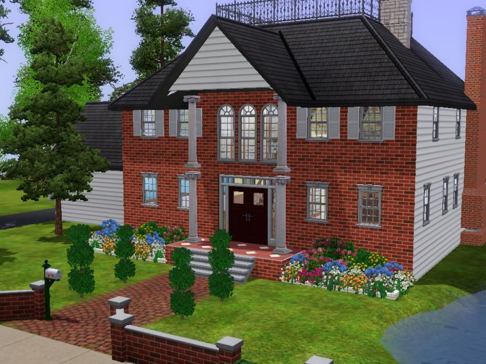 Mod the sims rich sims need houses too for Need a house